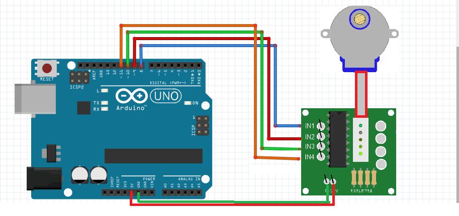 Arduino StepMotor(28BYJ-48) Kullanımı