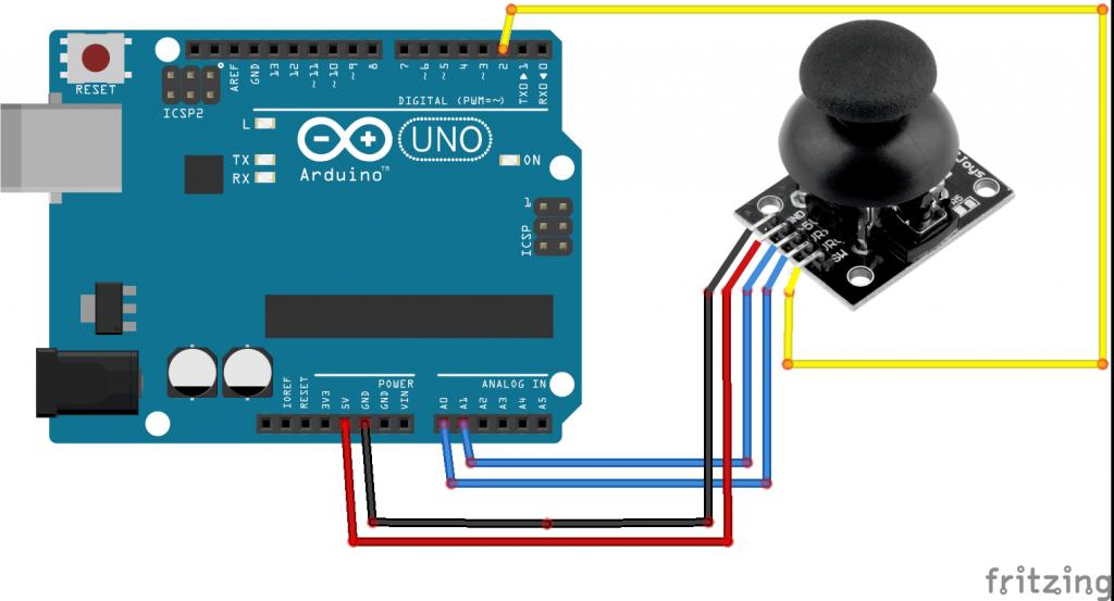 Arduino ile joystick kullanımı « kodlakafa