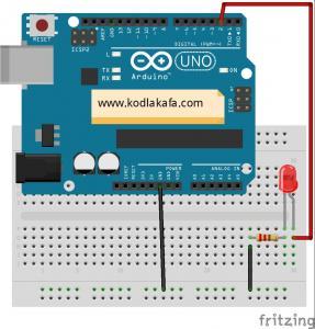 mblock-ile-arduino-led-yakma