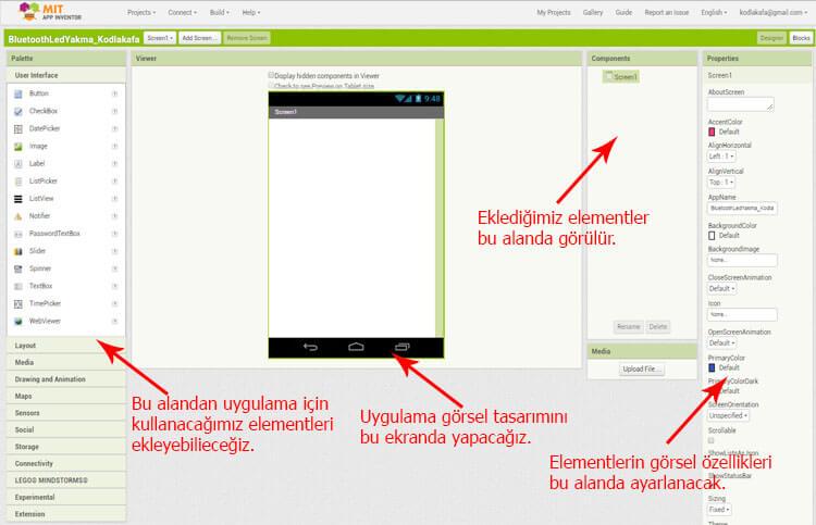 appinventor-arayüzü-appinventor-ile-android-uygulaması-yazma