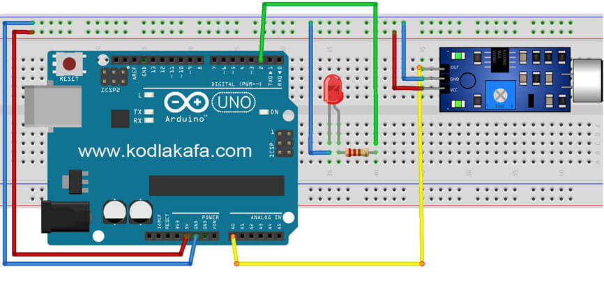 arduino-ses-sensor-baglanti-semasi